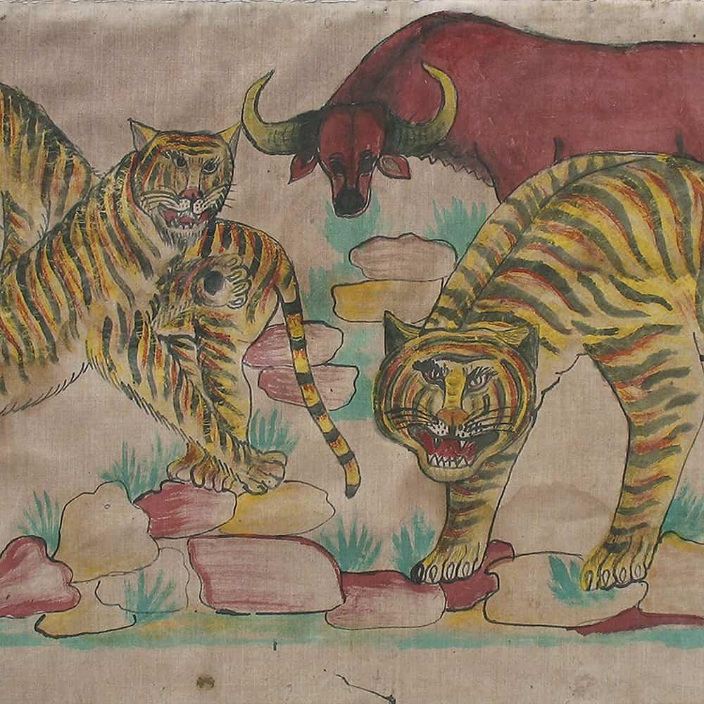 Folk Paintings by Phor Nan Ton