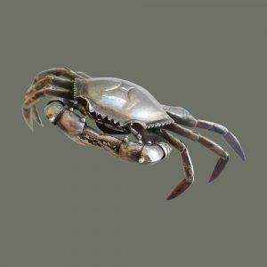 Silver Crab Box – Large
