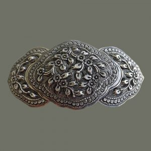 Handworked Silver Belt Buckle