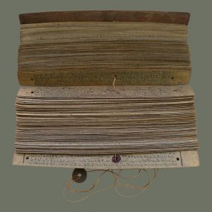 Old Palm Leaf Manuscript 'lontar'