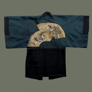 Man's Haori with Samurai Motif