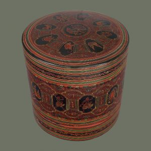 Lacquered Betel Box from Burma