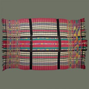 Woman's Ceremonial Blanket/Wrap Skirt from Burma